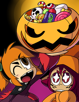 Halloween loot! by Coonstito