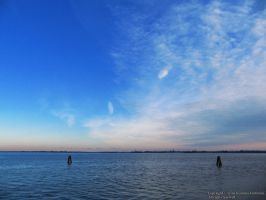 Venice Waterscape by biancomanto