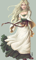 .:The White Lady of Rohan:. by FionaCreates