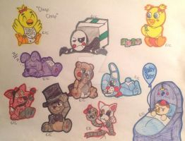 Five Nights with Babies!!!! by Chickie456