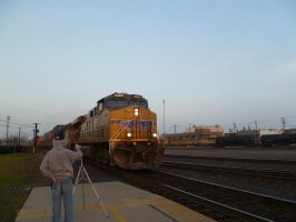 UP ES44AC 5465 by BNSF