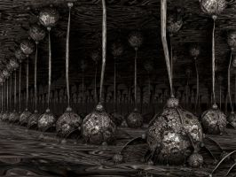 Cavern Bulbs by rfschenk