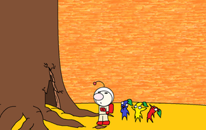 Pikmin idea-the tree by KingKirbyThe3rd