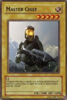 Master Chief yugioh card by Garruto123