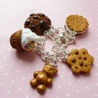 teddybear charms and others by lemon-lovely