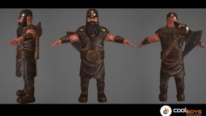Commission: Viking warrior commission(low poly 4k) by CoolBoysEnt