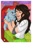 Beth and Catbug by Jaymzeecat