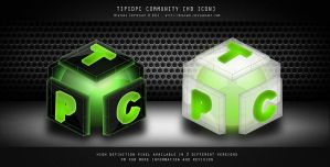Tipid PC Black White Icon by MIATARI