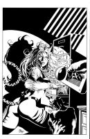 Avengers Icons: Tigra 3 Cover by MikeDeodatoJr