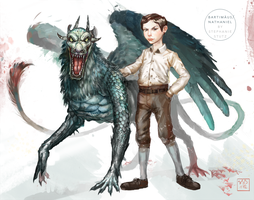 Bartimaeus Concept Art Part 1 by ToilettenMassaker