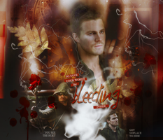 Oliver Queen - Bleeding by DarkFairy007