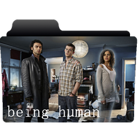 Being Human folder icon by NonStopSarah