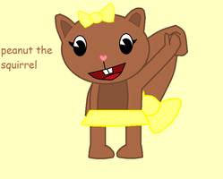 peanut the squirrel by cupcakecat123123