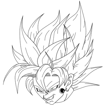 Black Goku finally scary by Carlito89