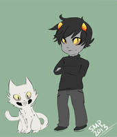 From Off to Homestuck in 2 seconds by Scorched-FoxFire