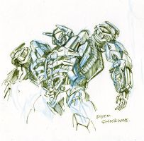 DOTM Shockwave sketch by marble-v