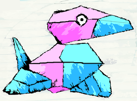 Porygon by JonnySQ