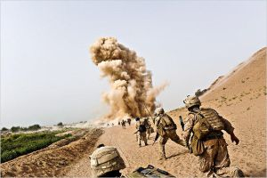 I.E.D. South Afghanistan by MilitaryPhotos
