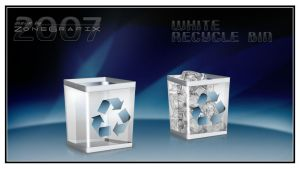 Whiter RecycleBin by ZoneGrafix