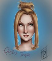 FF VIII - Quistis - Quick sketch practice by Trance-Sephigoth