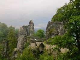 Elbe-Sandstone-Mountains 2 by Sabbelbina