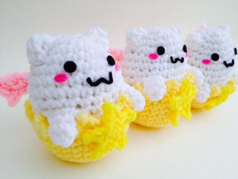 Tamadra amigurumi Puzzles and Dragons by Ami-Amour