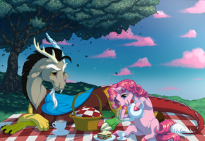 Commission: Picnic by KittehKatBar