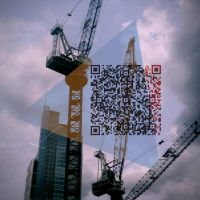 Urban Haiku 29 QR code art by KarolisKJ