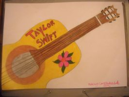 Taylor Swift Guitar by camilah