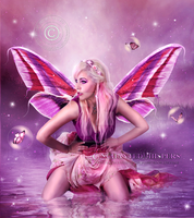 Pink-Fairy by EnchantedWhispersArt