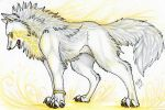 The wolf of light by Suenta-DeathGod