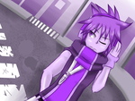 CE: TheReapersInitiation - Neku in Purple by Sonicbandicoot