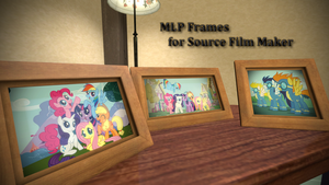 MLP Frames w/Download [SFM Resource] by argodaemon
