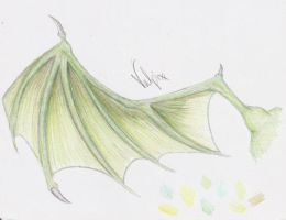 Dragon's Wing by Vulpixx