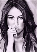 miley cyrus by akshay-nair