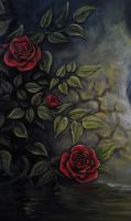 The Rose of Remembrance by serukian