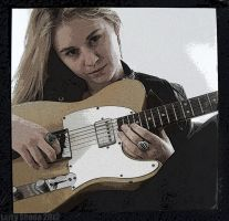 Girls can play blues too by Stumm47