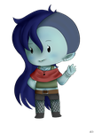 ~Chibi~ Marcie from AT by DesuPurpalHoodie