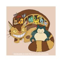 Poke-Cat Bus! by melissahooper