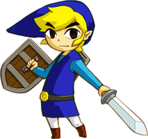 Blue Link 1 by Pheonixmaster1