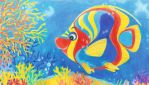 Colorful fish in the coral reef by SuperAbachiBro