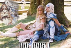 Final Fantasy IV by nolwen