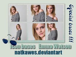 Icon bases - Emma Watson 2 by Natkawes