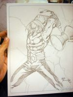 Thor consketch by Fpeniche