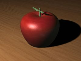 Manzana 3ds max by germanalbertogotta