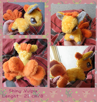 Shiny Vulpix by zukori