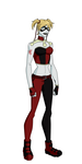 Harley Quinn Titans Design by Bobkitty23