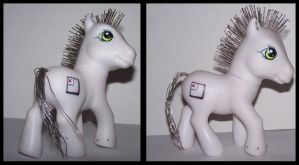 Glitch - MLP Custom by Skye-Wolf
