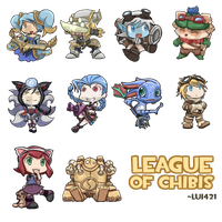 League of Chibi's by Lui421