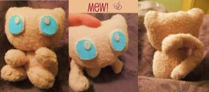 Mew Plush by MissSashy